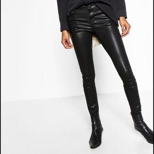 Zara Woman Premium Collection Vegan Skinny Jeans